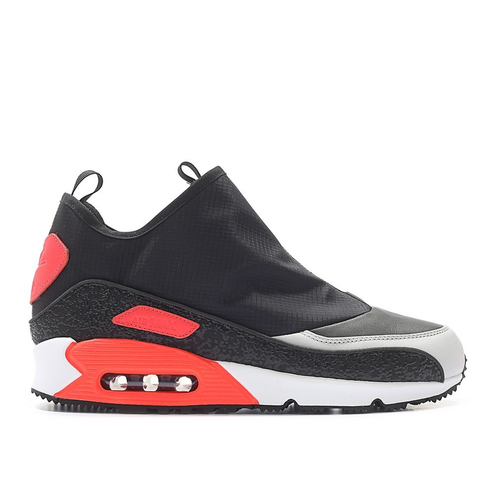NIKE AIR MAX 90 UTILITY (BLACK / RED / OFF-WHITE)