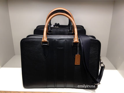 COACH new BOND BRIEF briefcase F72308 * FD7