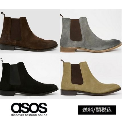 ASOS popular leather Chelsea boots