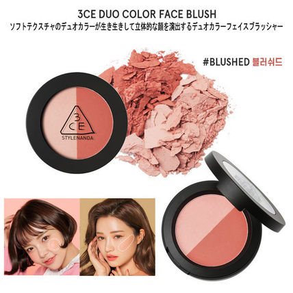3 CONCEPT EYES チーク [NEW]3CE BLUSHED KIT _ブラッシャーキット(Set)(3)