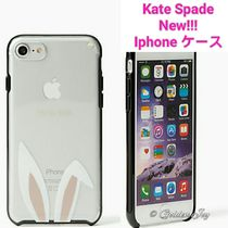 ★Kate Spade★新作★Iphone7 case I AM ALL EARS うさぎ