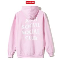 Mサイズ ANTISOCIAL CLUB Masochism Zip Up Hoodie/PINK