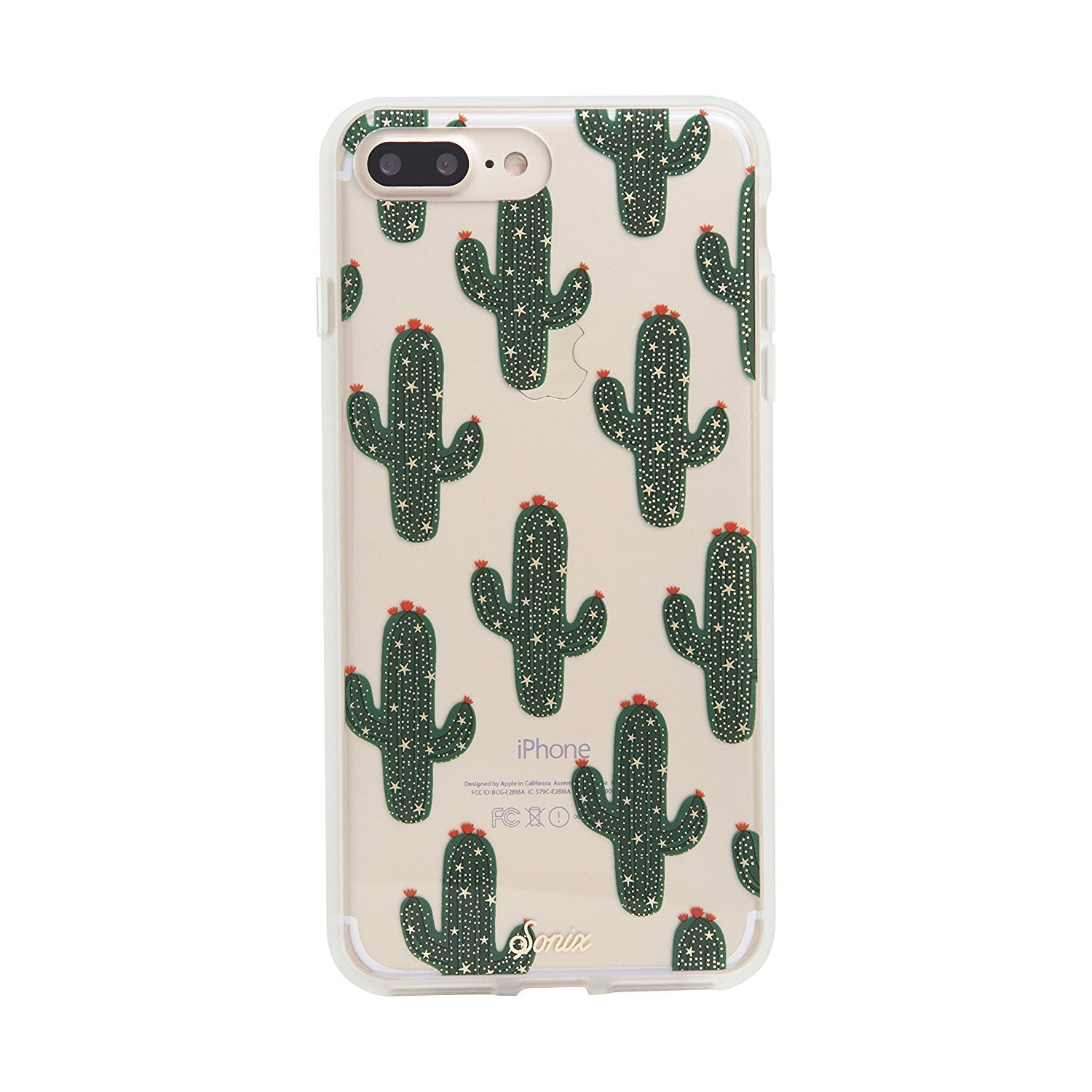 【Sonix】 iPhone7/7 Plusケース★サボテンSaguaro
