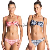 【ROXY】Visual Touch Bandeau Surfer Bikini/ビキニセット