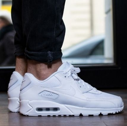 NIKE AIR MAX 90 ESSENTIAL white 25-537384-111