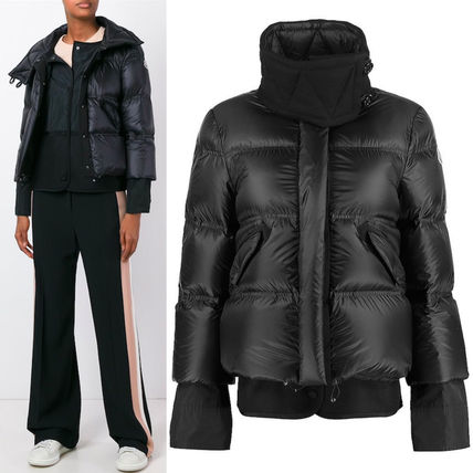 16-17AW MON295 MONCLER 'LUCIE' LAYERED JACKET