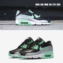 NIKE★AIR MAX 90 LTR GS★レザー★バイカラー★22.5~25cm