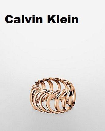 < Calvin Klein > BODY ROSE GOLD RING-指輪
