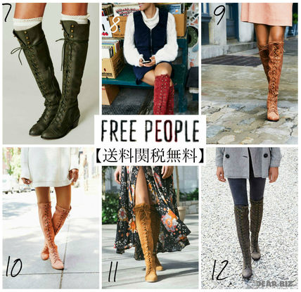 Free People Joeレースアップブーツ2/12色展開【送料・関税込】