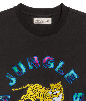 H&M Tシャツ・カットソー 【KENZO x H&Mコラボ】T-shirt with Appliques Tシャツ(2)
