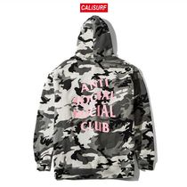 "Lサイズ ANTISOCIAL CLUB ""The Not Gildan"" Snow Camo Hoodie"""