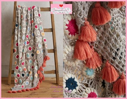 17 AW * * Anthro Amedee Crocheted Throw