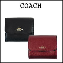 【即発★3-5日着】COACH★Crossgrain Card Case★F54843