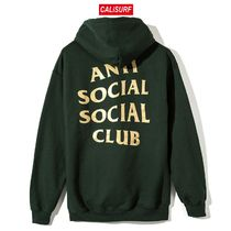 Lサイズ ANTI SOCIAL SOCIAL CLUB/Redeemed Hoodie/GREEN