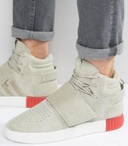 海外限定新!!☆Adidas☆Originals Tubular Invader Beige/赤
