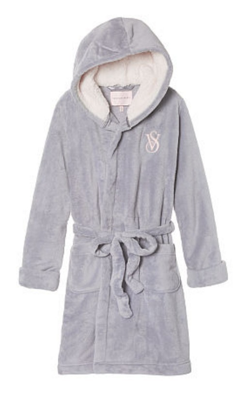 The Cozy Hooded Short Robe★関税込 国内発