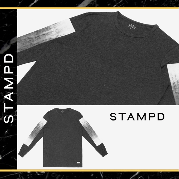 ★STAMPD★  DRESDEN LONG SLEEVE WITH 袖プリントTシャツ