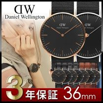 ★1年保証・国内即発★Daniel Wellington CLASSIC BLACK 36mm