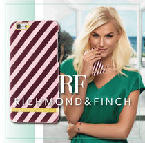 【日本総代理店】iPhone7/6s/RICHMOND&FINCH☆Stripes