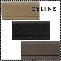 Celine★LARGE FLAP MULTIFUNCTION 長財布 ☆関税送料込