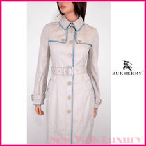 Burberry London(バーバリーロンドン) トレンチコート Burberry London★素敵!COTTON BEIGE STITCHED TRENCH COAT