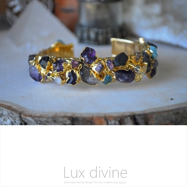 ROCKY MOUNTAIN CUFF 24kt GOLD カフ★Luxdivine #322