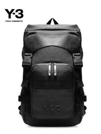 Y-3 before and after the logo ultra backpack