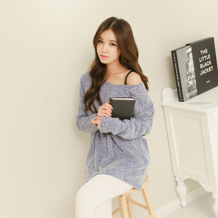 Knit top tunic winter fall over size / 485800086.