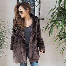【新作】【即発】 Fake Fur Coat 《BROWN》
