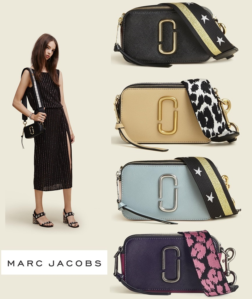 MARC JACOBS 2016-17AW Leopard Patterns 2WAY Plain Leather ...