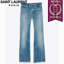 SAINT LAURENT 17SS┃ORIGINAL CROPPED FLARED JEANS