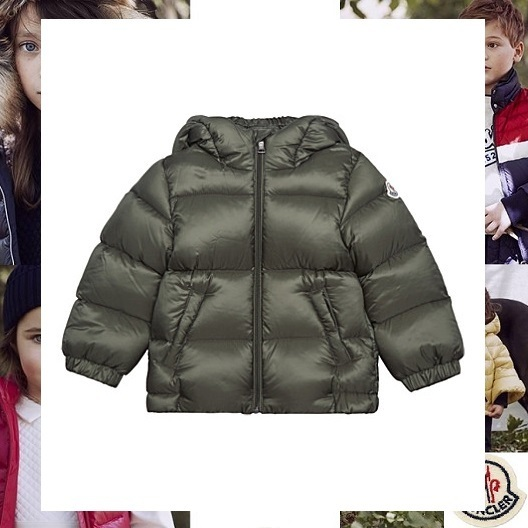 MONCLER モンクレール Macaireボンバーダウン グリーン 6-9ヵ月