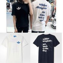 ADIDAS MEN'S ORIGINALS☆ ADI SLOGAN TEE TシャツAJ7114 AJ7115