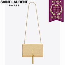 SAINT LAURENT 17SS┃CLASSIC MEDIUM KATE  TASSEL SATCHEL