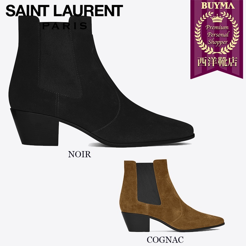 SAINT LAURENT 17SS┃ROCK 40 WESTERN ANKLE BOOT