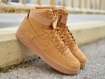 "国内発送☆ Air Force 1 High 07 LV8 ""Flax"" Wheat ☆大人気!!"