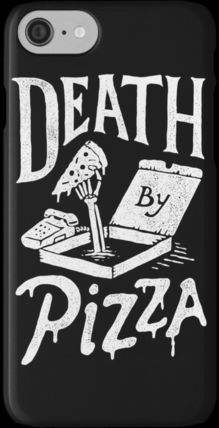 新作JSB愛用【REDBUBBLE】Death By Pizza iPhone7/GALAXY7各種