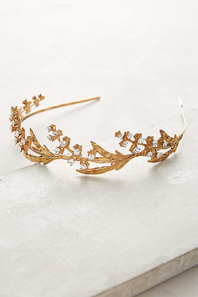 anthropologie/お洒落 Lily Of The Valley Headband/関込