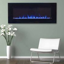 18x42inc LED Fire and Ice Electric Fireplace with Remote