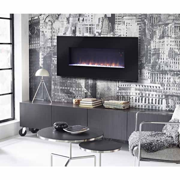 Paris 41-inch Wide Wall Mount Firebox