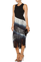 """Haute Hippie""The Cowgirl fringed mid Dress"