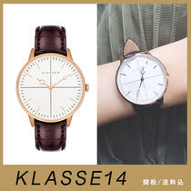 送関込【KLASSE14】DISCO VOLANTE ROSE GOLD BROWN LEATHER 36mm