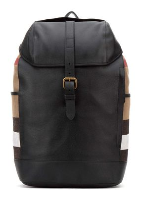 Burberry(バーバリー)☆leather Drifton backpack☆ブラック系