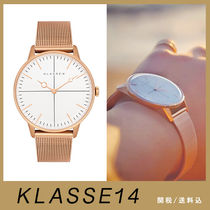 【KLASSE14】DISCO VOLANTE ROSE GOLD WITH MESH BAND 36mm☆