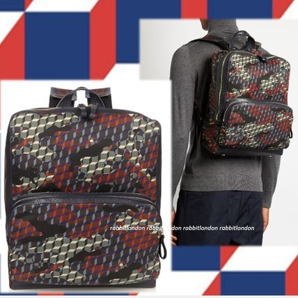 Pierre Hardy ★素敵なCamocube-print backpack