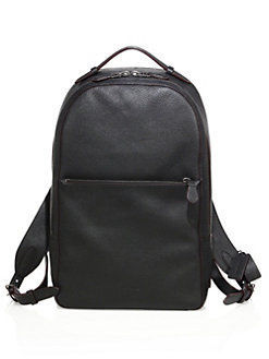 【COACH】Solid Leather Backp レザーバックパック 関税送料込み
