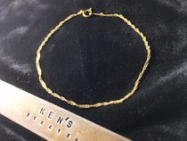 18K Screw Chain Bracelet