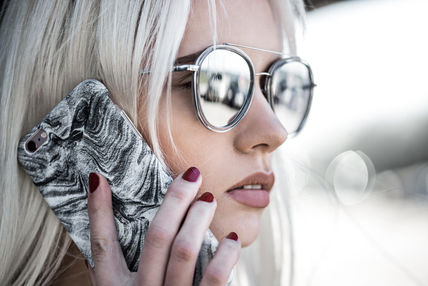 FELONY CASE スマホケース・テックアクセサリー 新作 FELONY CASE Smoke Marble Sleek type iPhone6/6S/7/7Plus(18)