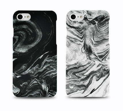 FELONY CASE スマホケース・テックアクセサリー 新作 FELONY CASE Smoke Marble Sleek type iPhone6/6S/7/7Plus