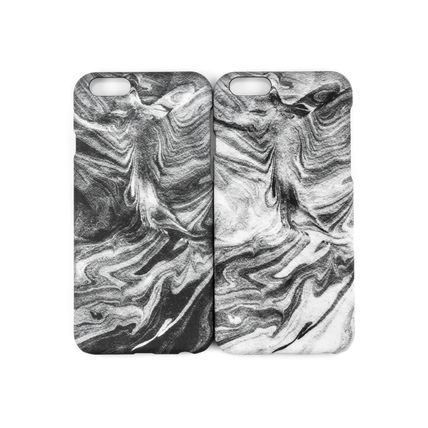FELONY CASE スマホケース・テックアクセサリー 新作 FELONY CASE Smoke Marble Sleek type iPhone6/6S/7/7Plus(5)